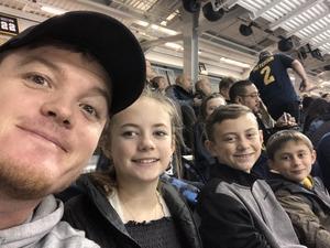 Robert attended University of Michigan Wolverines vs. Merrimack Warriors - NCAA Men's Hockey on Jan 8th 2019 via VetTix