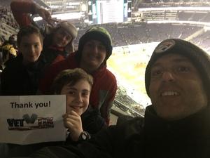 Shane attended Monster Energy Supercross - Motorsports/racing on Feb 9th 2019 via VetTix