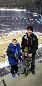 Nicholas attended Monster Energy Supercross - Motorsports/racing on Feb 9th 2019 via VetTix