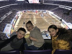 Joshua attended Monster Energy Supercross - Motorsports/racing on Feb 9th 2019 via VetTix