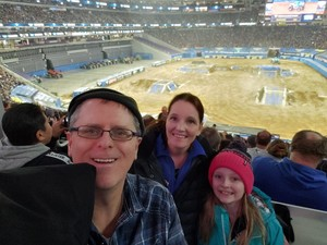 Corey attended Monster Jam - Motorsports/racing on Feb 16th 2019 via VetTix