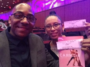 Marcel attended Carmen - Tracking Attendance - Presented by Ballet San Antonio on Feb 16th 2019 via VetTix