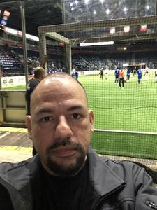 Carlos attended Rgv Barracudas FC vs. Tacoma Stars - Major Arena Soccer League on Jan 6th 2019 via VetTix