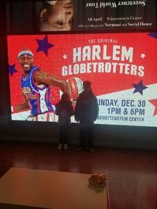 eric attended Harlem Globetrotters on Dec 30th 2018 via VetTix