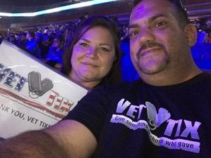 Randy attended Harlem Globetrotters on Dec 30th 2018 via VetTix