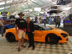 Don attended 2019 Barrett Jackson - 1 Ticket is Good for 2 People - Family Value Day (kids 12 and Under Are Free) on Jan 12th 2019 via VetTix