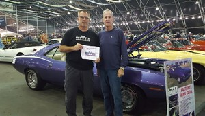 James attended 2019 Barrett Jackson - 1 Ticket is Good for 2 People - Family Value Day (kids 12 and Under Are Free) on Jan 12th 2019 via VetTix