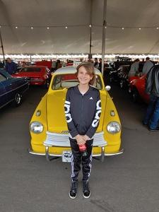 william attended 2019 Barrett Jackson - 1 Ticket is Good for 2 People - Family Value Day (kids 12 and Under Are Free) on Jan 12th 2019 via VetTix