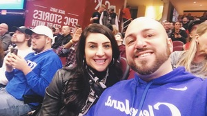 Anthony attended Cleveland Cavaliers vs. New Orleans Pelicans - NBA on Jan 5th 2019 via VetTix