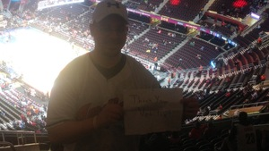 Robert attended Cleveland Cavaliers vs. New Orleans Pelicans - NBA on Jan 5th 2019 via VetTix