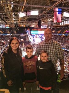 Monica attended Cleveland Cavaliers vs. New Orleans Pelicans - NBA on Jan 5th 2019 via VetTix