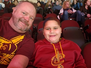 William attended Cleveland Cavaliers vs. New Orleans Pelicans - NBA on Jan 5th 2019 via VetTix