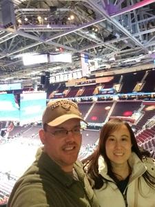 Joseph attended Cleveland Cavaliers vs. New Orleans Pelicans - NBA on Jan 5th 2019 via VetTix
