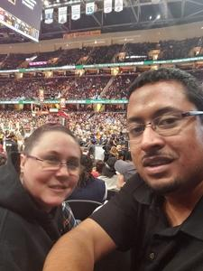 Shaun attended Cleveland Cavaliers vs. Indiana Pacers - NBA on Jan 8th 2019 via VetTix