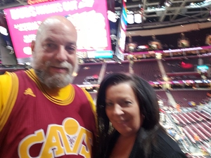 Matt attended Cleveland Cavaliers vs. Indiana Pacers - NBA on Jan 8th 2019 via VetTix