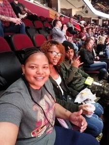 Takisia attended Cleveland Cavaliers vs. Indiana Pacers - NBA on Jan 8th 2019 via VetTix