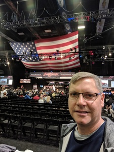 Ric attended 2019 Barrett Jackson - Collector Car Auction - 1 Ticket is Good for 2 People on Jan 14th 2019 via VetTix