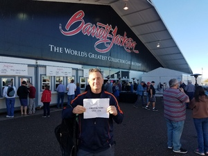Brian attended 2019 Barrett Jackson - Collector Car Auction - 1 Ticket is Good for 2 People on Jan 14th 2019 via VetTix