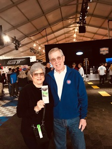 leslie attended 2019 Barrett Jackson - Collector Car Auction - 1 Ticket is Good for 2 People on Jan 14th 2019 via VetTix