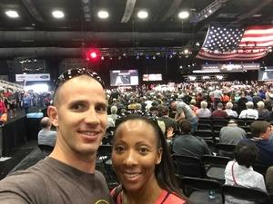Alexia attended 2019 Barrett Jackson - Collector Car Auction - 1 Ticket is Good for 2 People on Jan 14th 2019 via VetTix