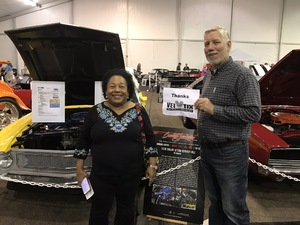 Stephen attended 2019 Barrett Jackson - Collector Car Auction - 1 Ticket is Good for 2 People on Jan 14th 2019 via VetTix