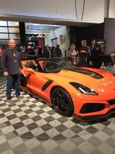 Larry attended 2019 Barrett Jackson - Collector Car Auction - 1 Ticket is Good for 2 People on Jan 14th 2019 via VetTix