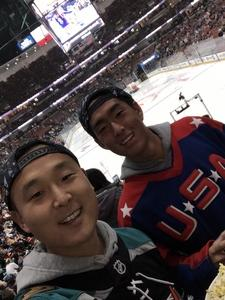 Sean attended Anaheim Ducks vs. Ottawa Senators - NHL on Jan 9th 2019 via VetTix