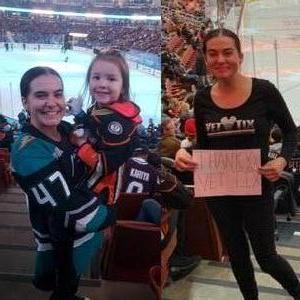Crystal attended Anaheim Ducks vs. Ottawa Senators - NHL on Jan 9th 2019 via VetTix