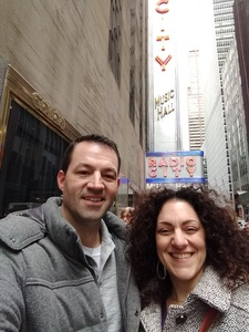Nicholas attended Christmas Spectacular Starring the Radio City Rockettes - 2pm Afternoon on Dec 31st 2018 via VetTix