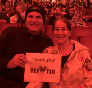 Roy attended Christmas Spectacular Starring the Radio City Rockettes - 2pm Afternoon on Dec 31st 2018 via VetTix