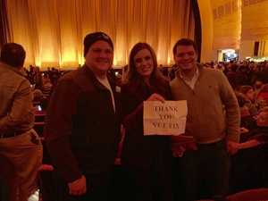 Tyler attended Christmas Spectacular Starring the Radio City Rockettes - 2pm Afternoon on Dec 31st 2018 via VetTix