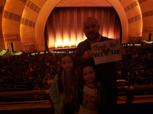 Shawn attended Christmas Spectacular Starring the Radio City Rockettes - 2pm Afternoon on Dec 31st 2018 via VetTix