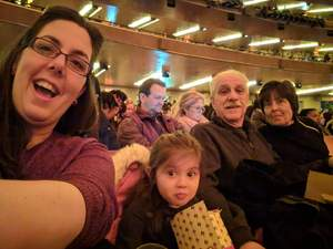 Vito attended Christmas Spectacular Starring the Radio City Rockettes - 2pm Afternoon on Dec 31st 2018 via VetTix