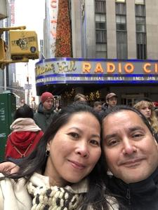 Ben attended Christmas Spectacular Starring the Radio City Rockettes - 2pm Afternoon on Dec 31st 2018 via VetTix
