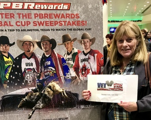 John attended PBR - Unleash the Beast - Sunday Performance on Jan 6th 2019 via VetTix