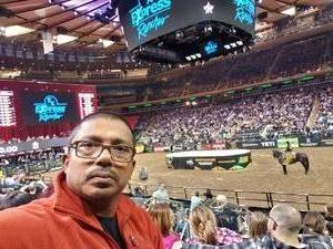 Saha attended PBR - Unleash the Beast - Sunday Performance on Jan 6th 2019 via VetTix