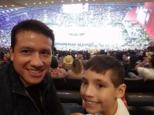 Jayson attended PBR - Unleash the Beast - Sunday Performance on Jan 6th 2019 via VetTix