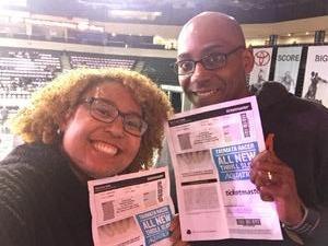 Marcel attended Iowa Wolves vs. Austin Spurs - NBA G - League Basketball on Jan 19th 2019 via VetTix