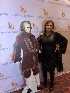Freddy attended Phoenix Symphony - a Mozart Celebration on Jan 5th 2019 via VetTix