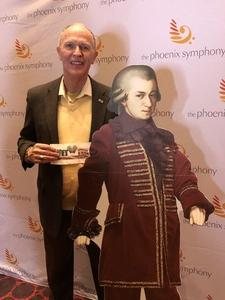 Jeff of Scottsdale attended Phoenix Symphony - a Mozart Celebration on Jan 5th 2019 via VetTix