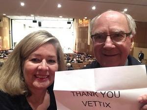 John attended Phoenix Symphony - a Mozart Celebration - 2 PM Matinee on Jan 6th 2019 via VetTix