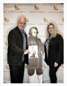 James attended Phoenix Symphony - a Mozart Celebration - 2 PM Matinee on Jan 6th 2019 via VetTix