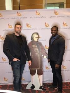 Chris attended Phoenix Symphony - a Mozart Celebration - 2 PM Matinee on Jan 6th 2019 via VetTix