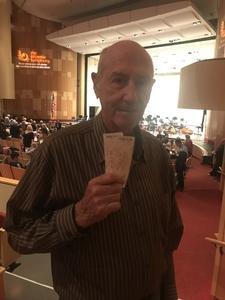 don attended Phoenix Symphony - a Mozart Celebration - 2 PM Matinee on Jan 6th 2019 via VetTix