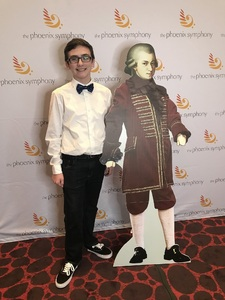 BART attended Phoenix Symphony - a Mozart Celebration - 2 PM Matinee on Jan 6th 2019 via VetTix