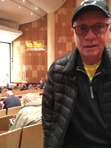 jack attended Phoenix Symphony - a Mozart Celebration - 2 PM Matinee on Jan 6th 2019 via VetTix