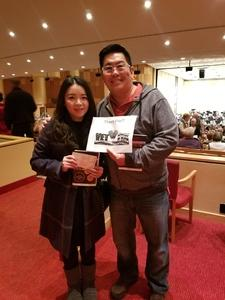 Andrew attended Phoenix Symphony - a Mozart Celebration - 2 PM Matinee on Jan 6th 2019 via VetTix