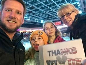 Mike attended Kansas City Mavericks - Minor League on Jan 5th 2019 via VetTix