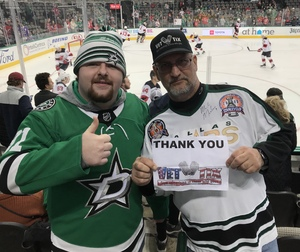 James attended Dallas Stars vs. New Jersey Devils - NHL on Jan 2nd 2019 via VetTix
