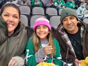 BRANDI attended Dallas Stars vs. New Jersey Devils - NHL on Jan 2nd 2019 via VetTix